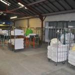 livraison de nappes propres